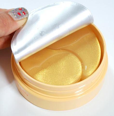 Гидрогелевые патчи для век с частицами коллоидного золота и маточным молочком KOELF