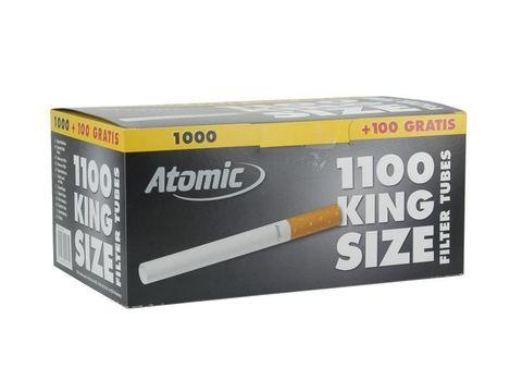 Гильзы для сигарет ATOMIC, 1000+100 шт, KS