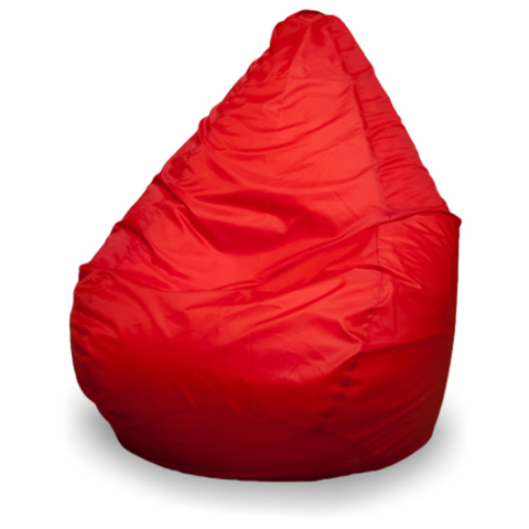 Бескаркасное кресло «Груша» L, Красный