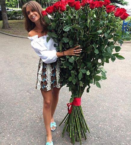 51 роза 150 см #1531