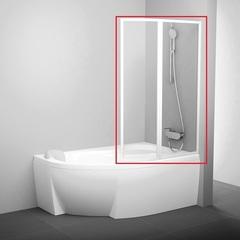 Шторка на борт ванны складная 140х150 см правая Ravak Rosa VSK2 140 R 76P7010041 фото