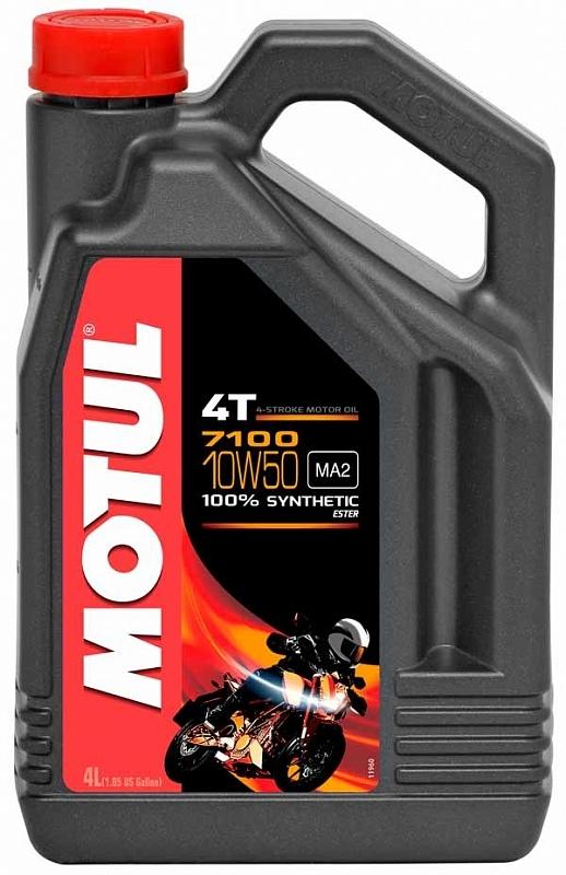 Motul 7100 4T 10W50 Мотоциклетное масло