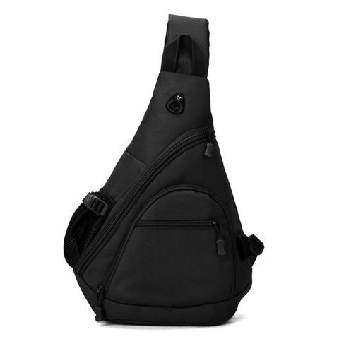 Тактический однолямочный рюкзак Cool Walker 6039 Черный