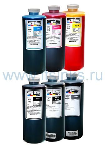 Комплект водорастворимых чернил STS для HP 72 6x1000 мл