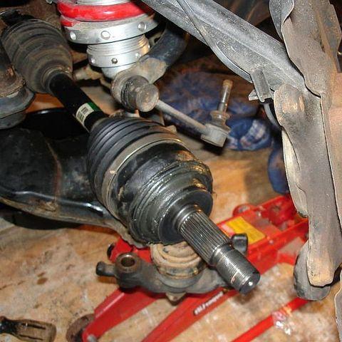 Замена внешнего пыльника ШРУС Ford Ranger