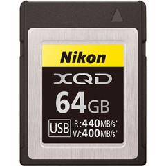 Карта памяти Nikon XQD 64GB 440/400 MB/s