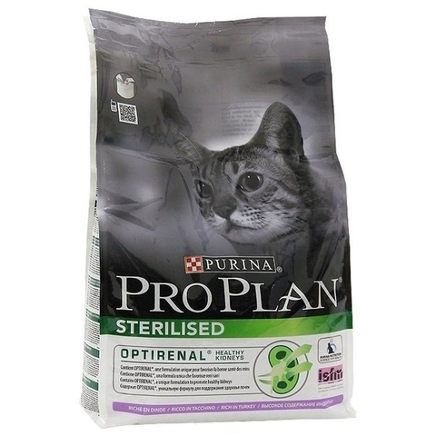 Purina Pro Plan Sterilised с индейкой 10 кг