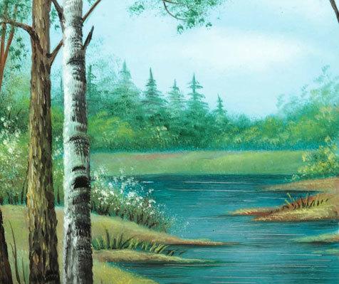 Летом у реки