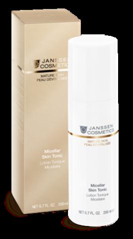 Мицеллярный тоник с гиалуроновой кислотой,Janssen Micellar Skin Tonic,500 мл.