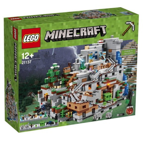 LEGO Minecraft: Горная пещера 21137 — The Mountain Cave — Лего Майнкрафт