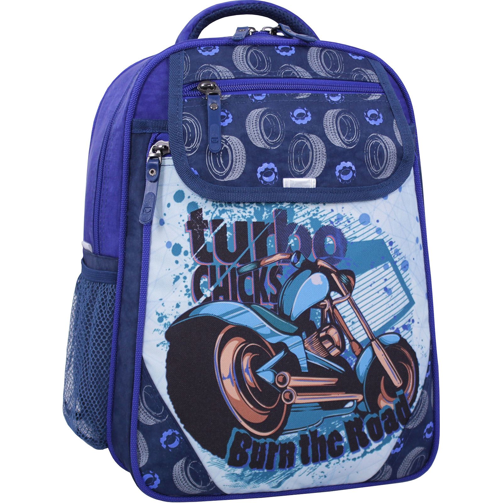 Школьные рюкзаки Рюкзак школьный Bagland Отличник 20 л. 225 синий 551 (0058070) IMG_2507_суб.551_.JPG