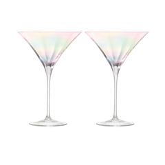 Набор из 2 бокалов для коктейлей LSA International Pearl, 300 мл, фото 2