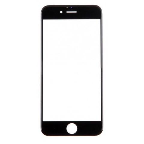 Фронтальное стекло, лицевое стекло iPhone 6/6 plus (черное/белое)