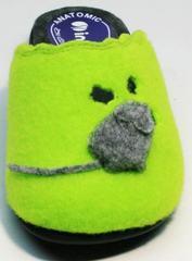 Тапочки из войлока женские Inblu NC- 1B Mouse Light Green