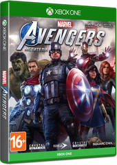 Xbox One Мстители Marvel (русская версия)