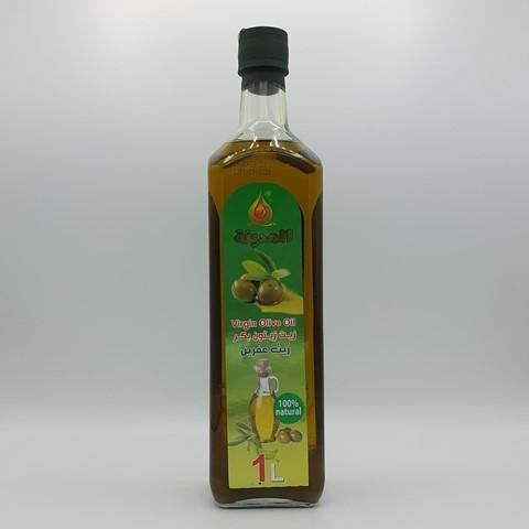 Масло оливковое нерафинированное Virgin Olive Oil EL MADINA, 1 литр