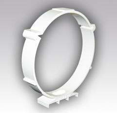 Держатель круглых воздуховодов 125 мм пластиковый