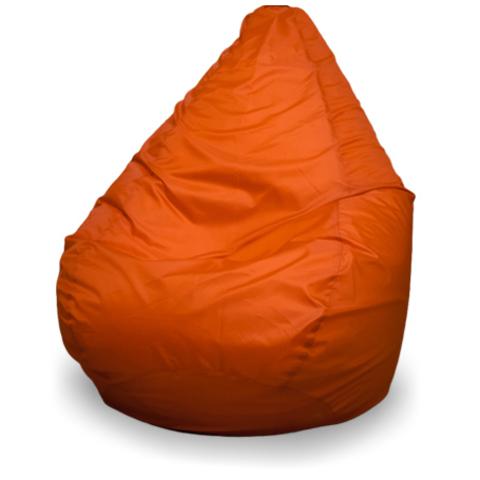 Бескаркасное кресло «Груша» XL, Оранжевый