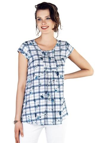 Блузка для беременных 10270 клетка