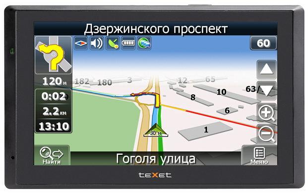 Автомобильный навигатор TEXET TN-711 Atlas 5