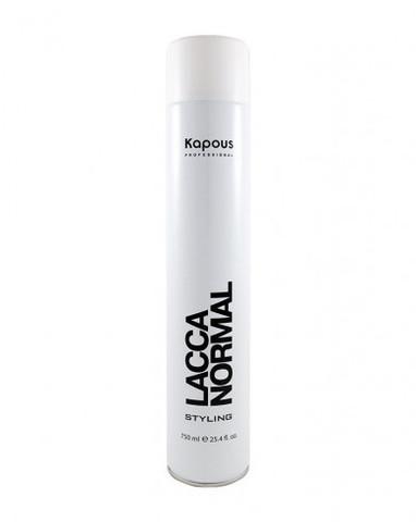 Лак аэрозольный для волос нормальной фиксации «Lacca Normal», 750 мл