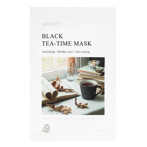 Маска с экстрактом черного чая