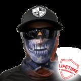 Бандана-труба череп SA Rebel Skull