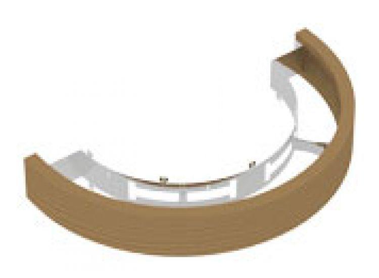 Ограждения и коврики: Деревянное ограждение SAWO ARI-GUARD-W3-WL-D для печи пристенной установки ARIES ARI3 (кедр)