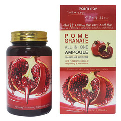 Farmstay Pomegranate All-In One Ampoule - Многофункциональное средство с экстрактом граната