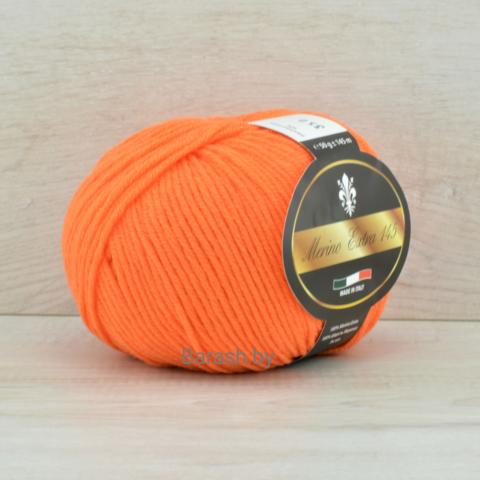 Пряжа Merino Extra 145 (Мерино экстра 145) Оранжевый