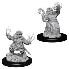 Pathfinder Battles Deep Cuts Unpainted Miniatures - Female Dwarf Summoner