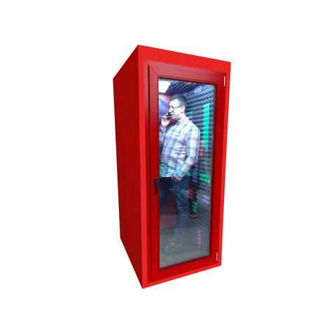 Клубная телефонная будка 60Дб , размеры  95х95х220