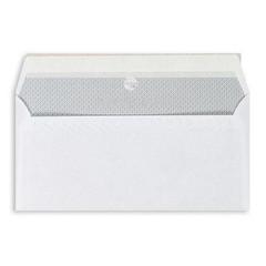 Конверт Garantpost E65 90 г/кв.м белый стрип с внутренней запечаткой (1000 штук в упаковке)