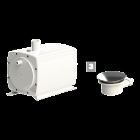 Канализационная установка SFA SANIFLOOR+ 3 (для плоского поддона)