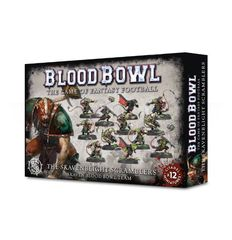 Blood Bowl: Skavenblight Scramblers. Коробка