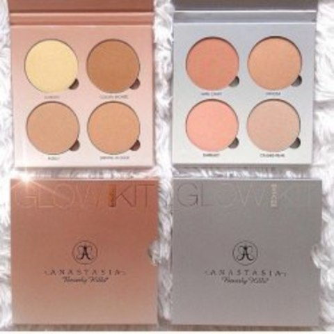 Палетки-«четверки» хайлайтер Anastasia Beverly Hills Glow Kit