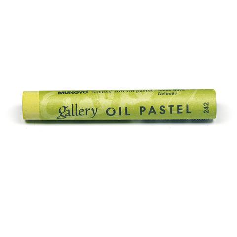 Пастель масляная Mungyo, профессиональная, цвет № 242 Оливково-жёлтый