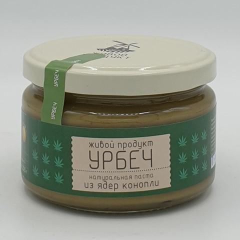 Урбеч из ядер конопли ЖИВОЙ ПРОДУКТ, 225 гр