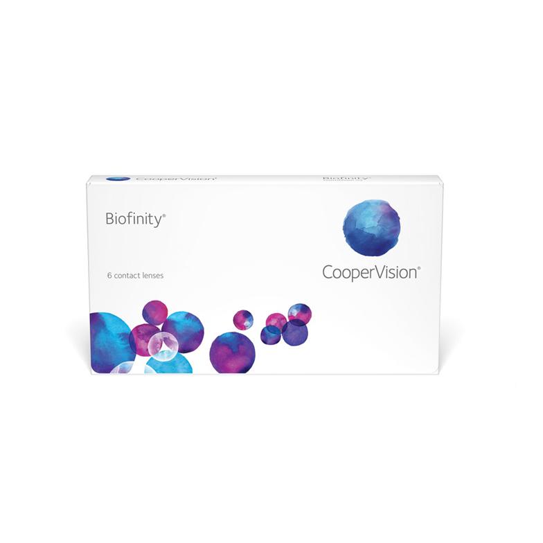 силикон-гидрогелевые линзы | biofinity | 8.6