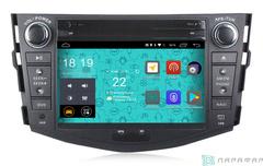 Штатная магнитола 4G/LTE с DVD для Toyota RAV-4 06-12 Android 7.1.1 Parafar PF018D