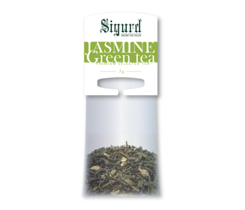 Чай Sigurd Жасмин зеленый на чайник (20 шт)