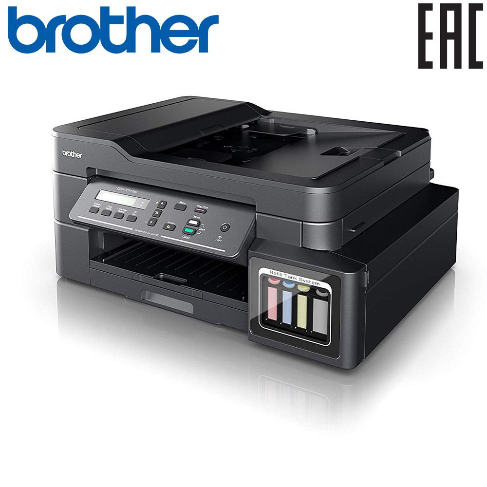 МФУ Brother DCP-T710W InkBenefit Plus с перезаправляемыми резервуарами