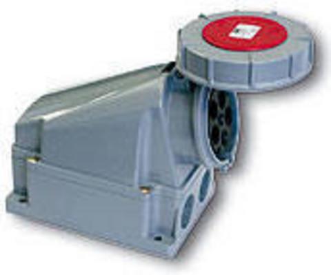Розетка наружной установки IP67 63А 3Р+РЕ 380В TDM