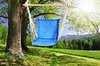 Гамак кресло из льна с поролоновыми вставками синий RGK4SIN