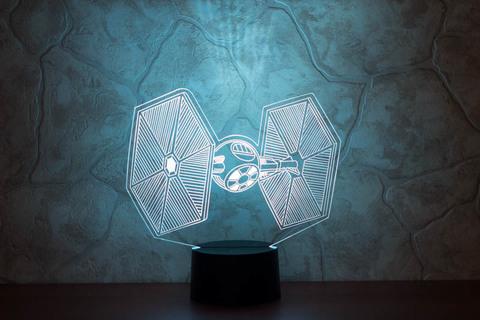 3D лампа СИД - Истребитель