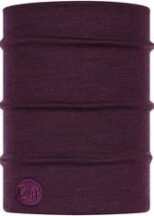 Теплый шерстяной шарф-труба Buff Wool heavyweight Purplish Multi Stripes