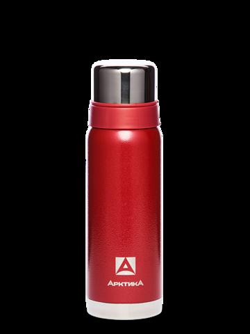 Термос Арктика (0,75 литра) с узким горлом американский дизайн, красный