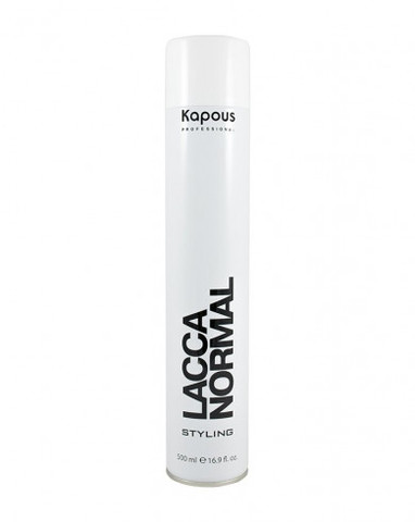 Лак аэрозольный для волос нормальной фиксации «Lacca Normal», 500 мл
