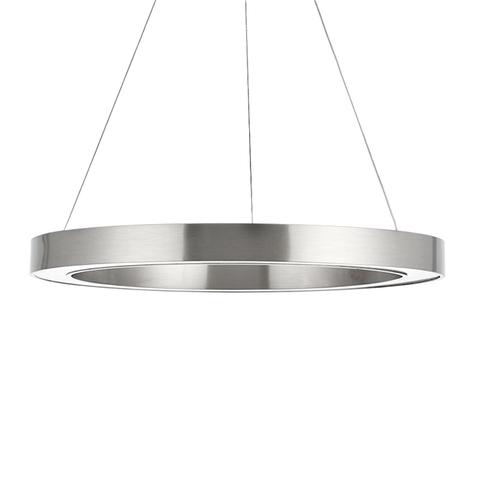 Подвесной светильник копия Light Ring by HENGE D120 (никель)