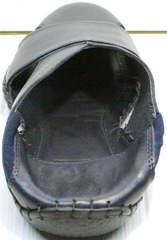 Мужские кожаные босоножки мюли из натуральной кожи Luciano Bellini 76389 Blue.